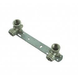 Concealed Shower Bracket/Length - 150mm / Thermostatic Mixer Tap Bar Back Plate BSP