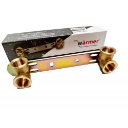 Concealed Shower Bracket/Length - 150mm / Thermostatic Mixer Tap Bar Back Plate BSP