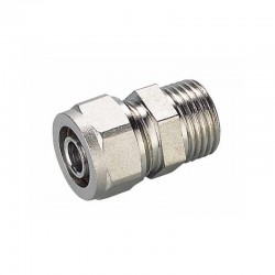 16x1/2'' MALE STRAIGHT CONNECTOR