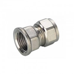 16X1/2'' FEMALE STRAIGHT CONNECTOR