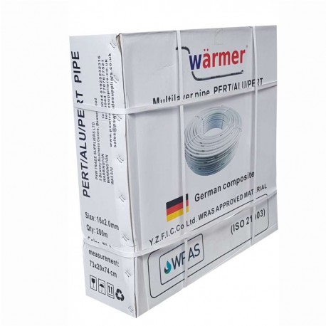 16MM PERT AL PEPERT UFH PIPE 100M ROLL WRAS APPROVED