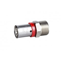 16MMX1/2'' PRESS TO MALE  STRAIGHT CONNECTOR