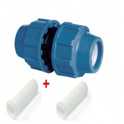 20MM EQUAL STRAIGHT COUPLERS COMPRESSION
