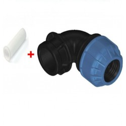 20MMX3/4'' FEMALE ELBOW COMPRESSION