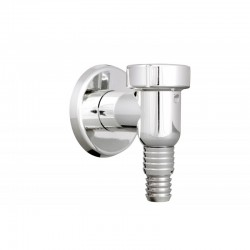 WASHING MACHINE SIPHON WITH CHECK IN VALVE CHROME