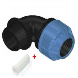 20MMX3/4'' MALE ELBOW COMPRESSION