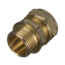 "Straight Adaptor 22 mm x 3/4"" Compression x BSP  Male"