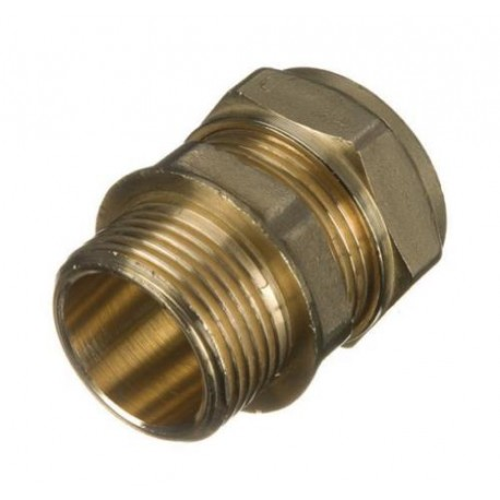 Compression Straight Adaptor - 22mm x 1/2""