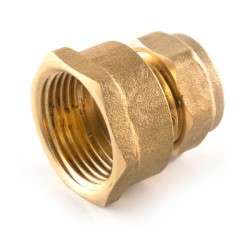 Compression Straight Adaptor - 15mm x 3/4""