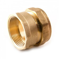 Compression Straight Adaptor - 42mm x 1.1/2""