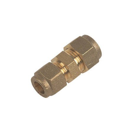 Compression Straight Coupling - 8mm x 8mm