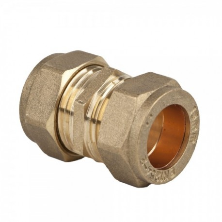 Compression Straight Coupling - 15mm