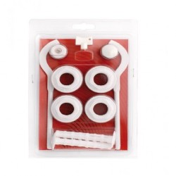 RADIATOR REDUCING BUSH THREAD SET WITH RADIATOR HANGERS