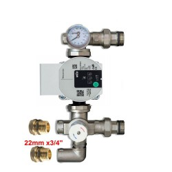 GRUNDFOS UPM3 PUMP 25-70 130 WITH BLENDING VALVE FOR UNDERFLOOR HEATING