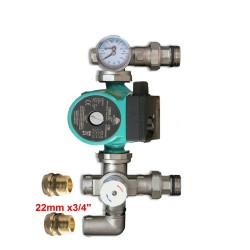 MIXER SET BLENDING VALVE +130mm PUMP OMIS