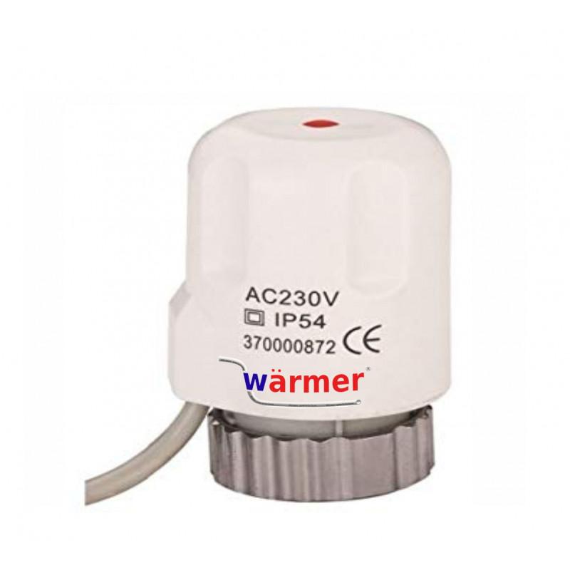 UNDERFLOOR HEATING ACTUATOR 230V Wärmer system