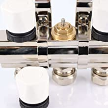 manifold build-in valve for actuator